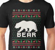 Bear Ugly Christmas Sweater Unisex T-Shirt