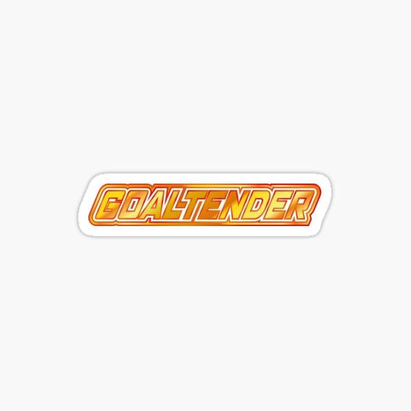 Goaltender Sticker