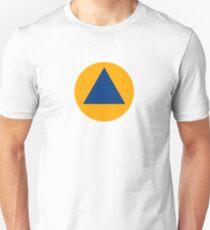 International Sign of Civil Defense Roundel  Unisex T-Shirt