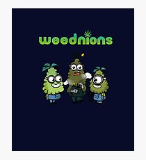 Stoned Weednions Photographic Print