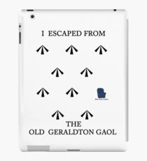 OLD GERALDTON GAOL  iPad Case/Skin
