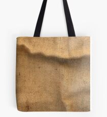 Jute material as a background Tote Bag