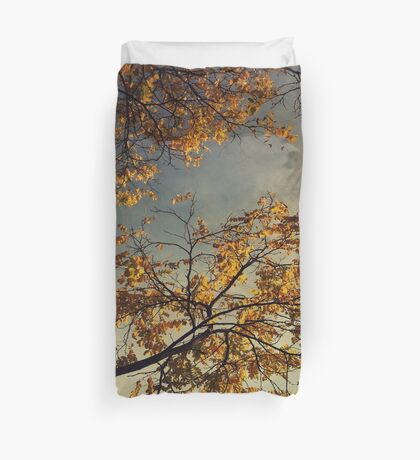 A Day in Autumn Duvet Cover