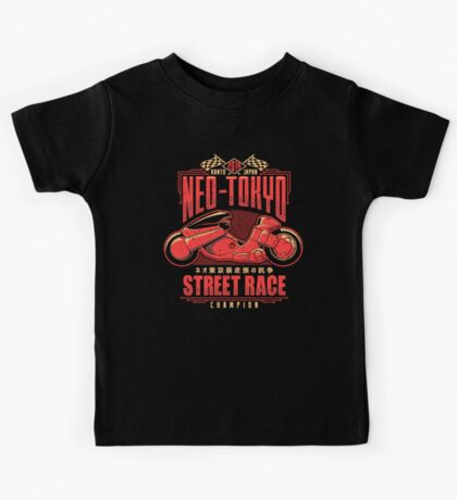 Neo-Tokyo Street Racing Champion Kids Clothes