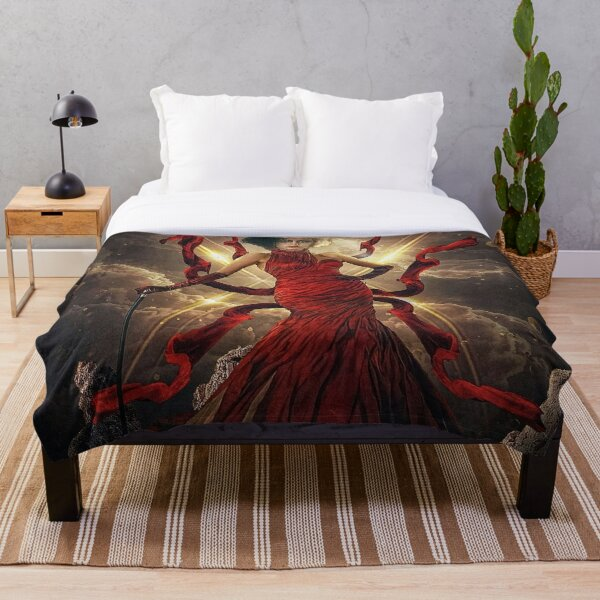 Cruella De Vil Art Design Throw Blanket