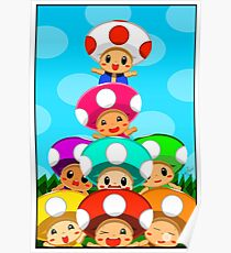 Stack o' Toads Poster