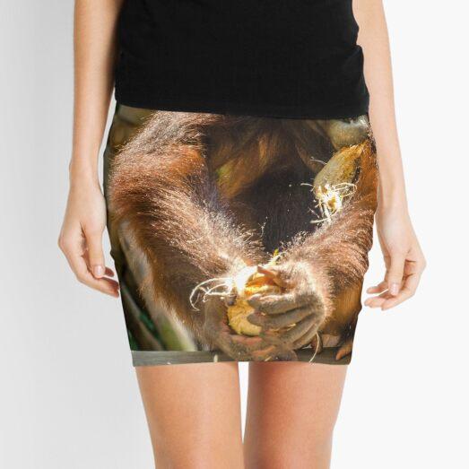 Orangutan - Snack Time Mini Skirt