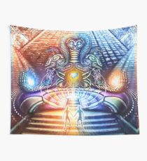 FireMoon FrozenSun Wall Tapestry