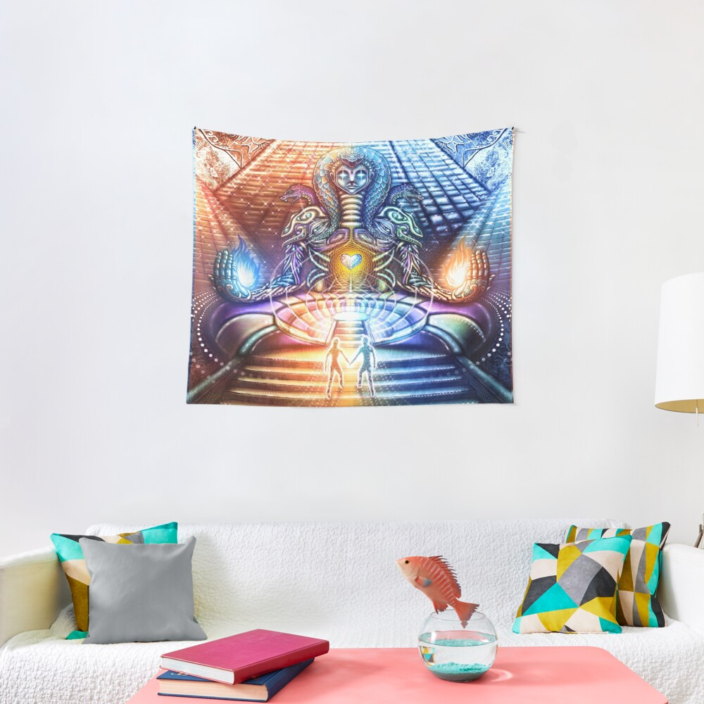 FireMoon FrozenSun Tapestry
