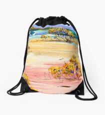 On the outskirts Drawstring Bag
