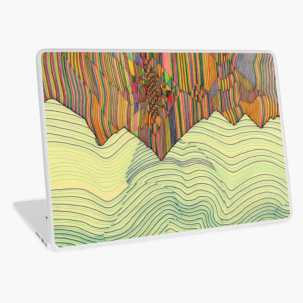 Ridge Laptop Skin