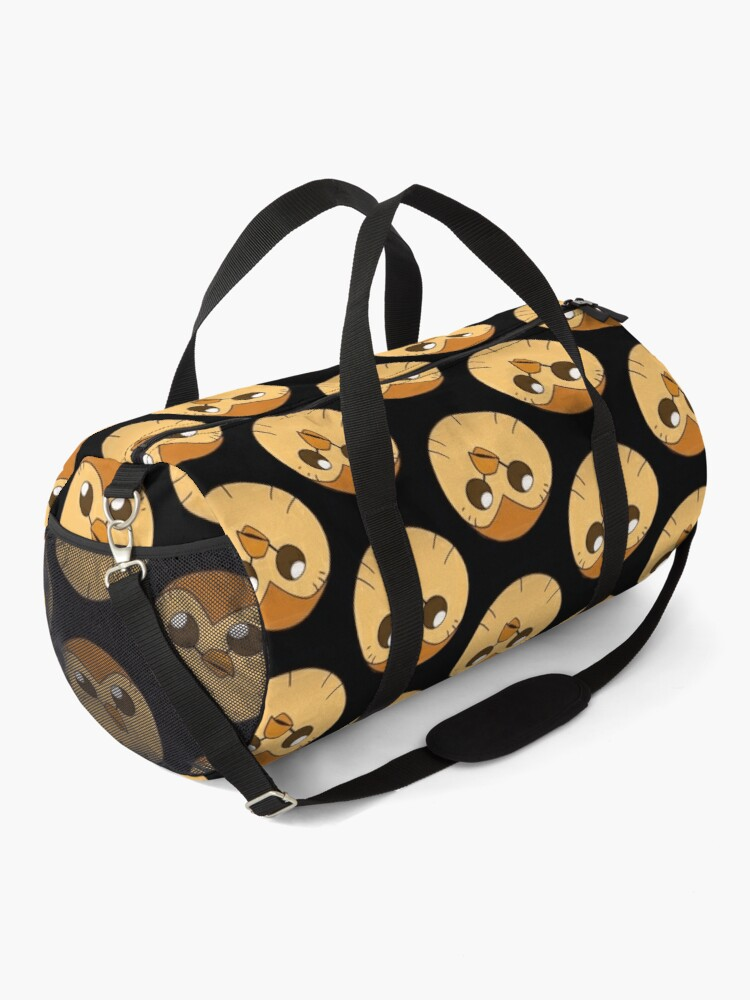 Alternate view of the owl house hooty  | Perfect Gift | owl house gift Duffle Bag