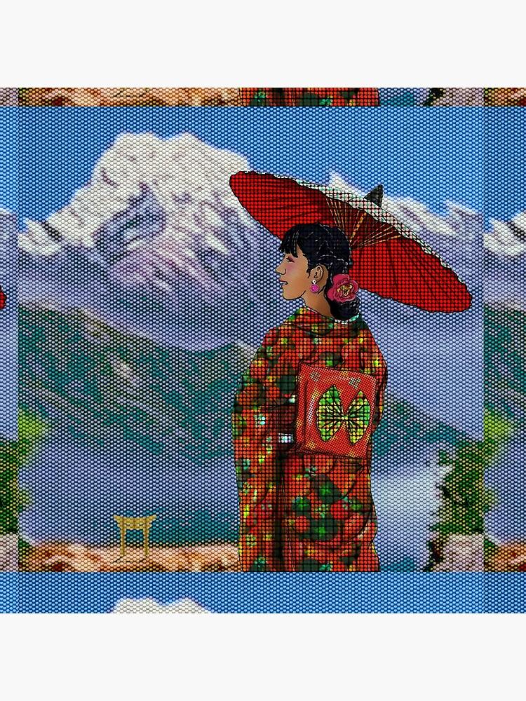 Japanese Woman 3 by FanArtAddict