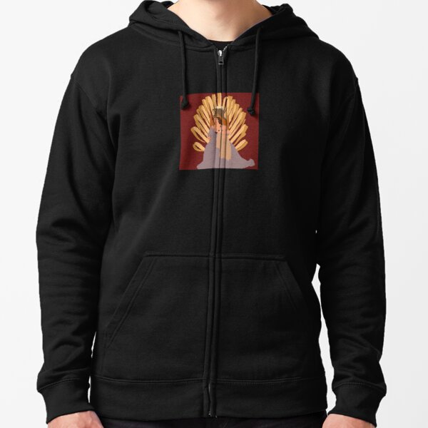 IF I CANT HAVE LOVE I WANT POWER ART ALBUM Zipped Hoodie