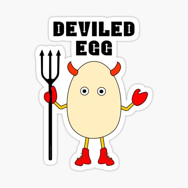 Deviled Egg Sticker