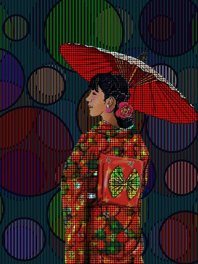 Japanese Woman 2 by FanArtAddict