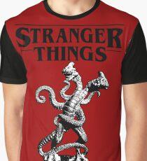 Stranger Things Demogorgon Stylised 3 Graphic T-Shirt