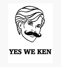 Yes We Ken Photographic Print
