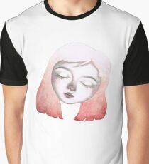 watercolor girl Graphic T-Shirt