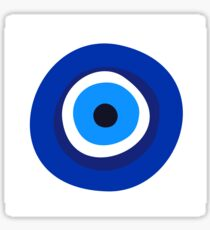 evil eye symbol Sticker