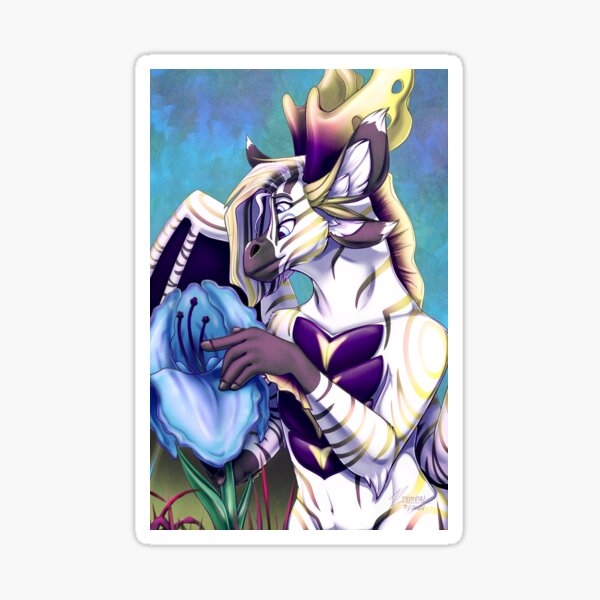 Canvas Swap Zine Issu 8: Alien Worlds - Cover Art Sticker