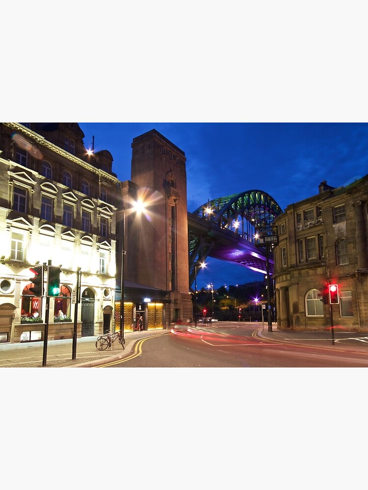 Newcastle's Tyne Bridge and Quayside by robcole