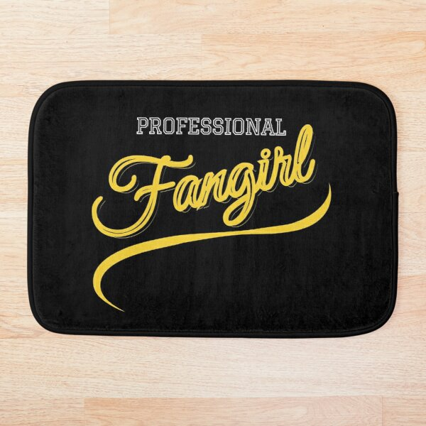 Professional Fangirl Bath Mat