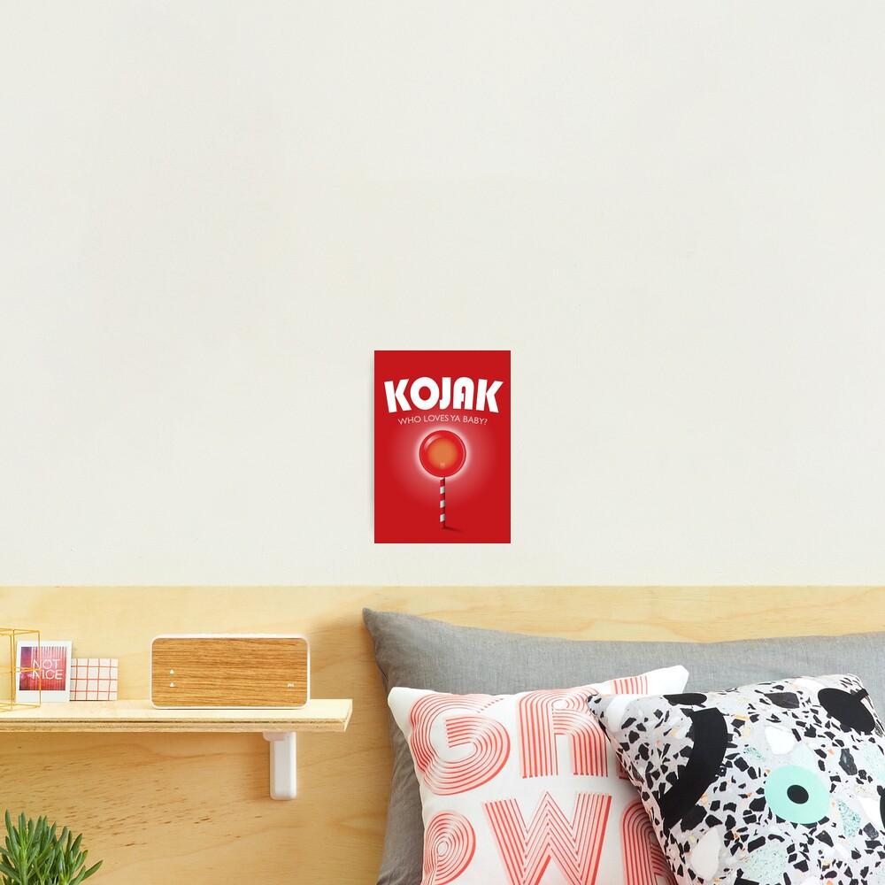Kojak TV series poster Photographic Print