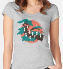 Spirits of the Trees Women's Fitted Scoop T-Shirt