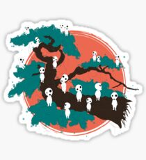 Spirits of the Trees Sticker
