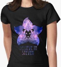 Believe in Steven Women's Fitted T-Shirt