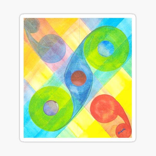 Colorscape Rounds Sticker