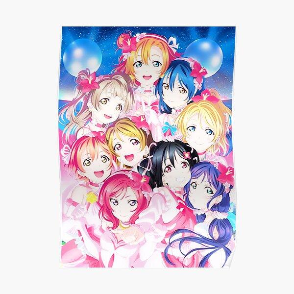 Love live - μ's! Poster