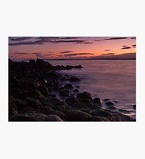 Tranquil dusk Photographic Print