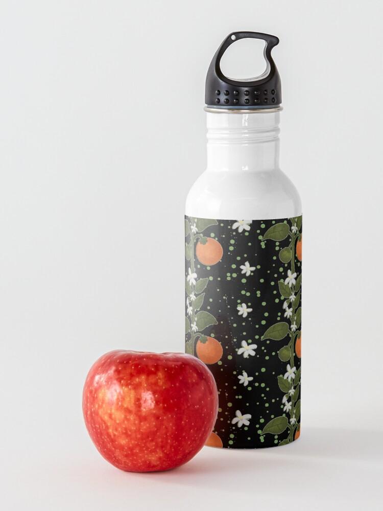 Alternate view of Tangerine Flowers Home Water Bottle