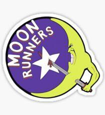 THE MOONRUNNERS GANG - THE WARRIORS Sticker