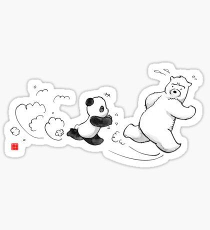 Cold Paws Attack Sticker
