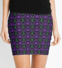 Beetle pattern Mini Skirt