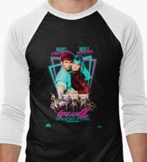 Neon 80 FETT 2 Baseballshirt für Männer