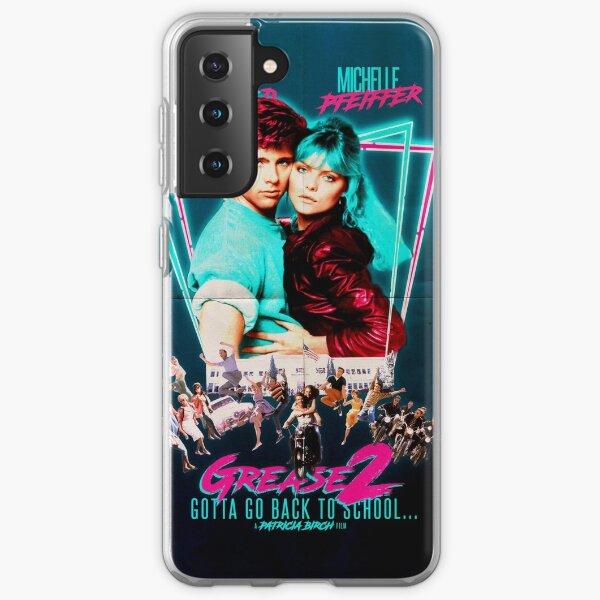 Neon 80's GREASE 2  Samsung Galaxy Soft Case