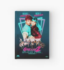 Neon 80's GREASE 2  Hardcover Journal