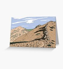 Jobs Sister and Unnamed Peak Greeting Card