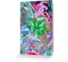 Green Sprite Greeting Card