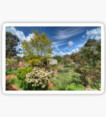 Stoney Bottom - A Garden in Bridgetown, Western Australia Sticker