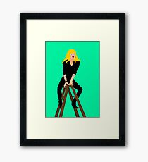 Cool Rider Framed Print