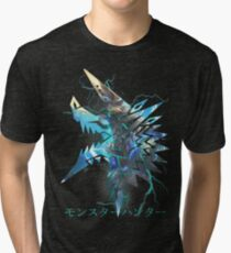 Monster Hunter - Zinogre  Tri-blend T-Shirt