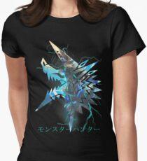 Monster Hunter - Zinogre  Women's Fitted T-Shirt