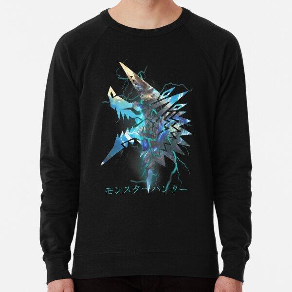 Monster Hunter - Zinogre  Lightweight Sweatshirt