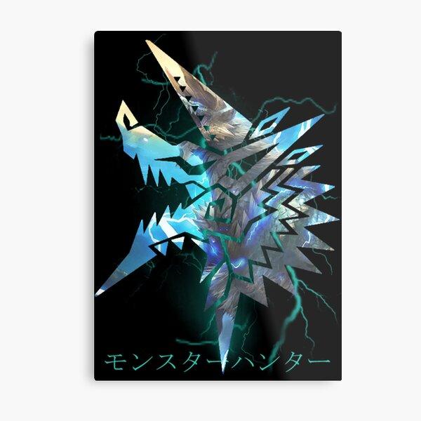 Monster Hunter - Zinogre  Metal Print