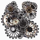 Steampunk Gears on your Gear No.2 by Steve Crompton